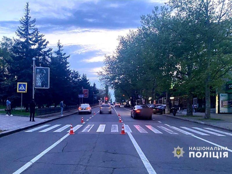В Николаеве VOLKSWAGEN сбил ребенка на самокате на пешеходном переходе