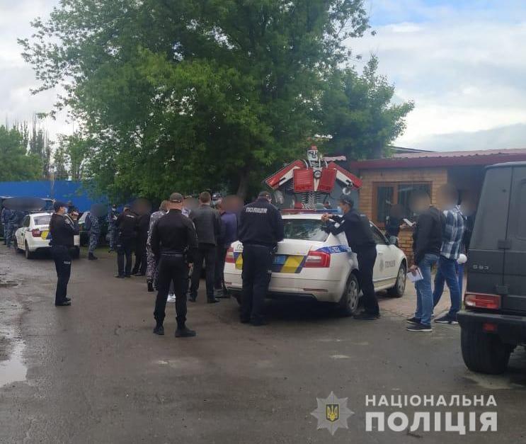 Спустя 5 дней после смерти директора Симченко Николаевский тепловозоремонтный завод заблокирован (ФОТО) Обновлено 5