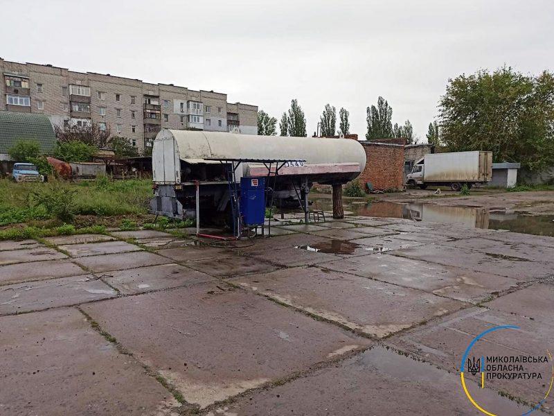 В Очакове полиция ликвидировала незаконную АЗС: топливо и оборудование изъято
