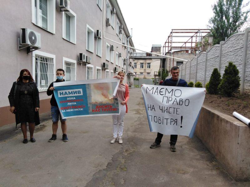 """Жители Намыва и """"Лесков"""" хотят участвовать в суде против """"Экотранса"""" (ФОТО)"""