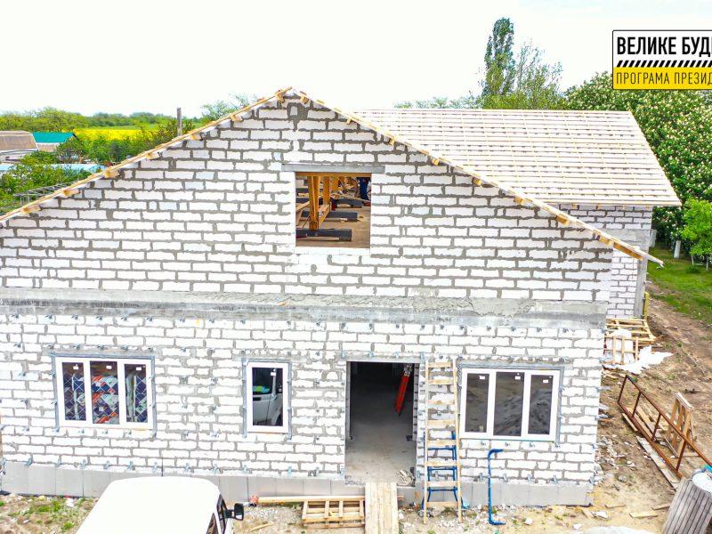 В рамках «Великого Будівництва» у селі Галицинове будується сільська амбулаторія (ФОТО)