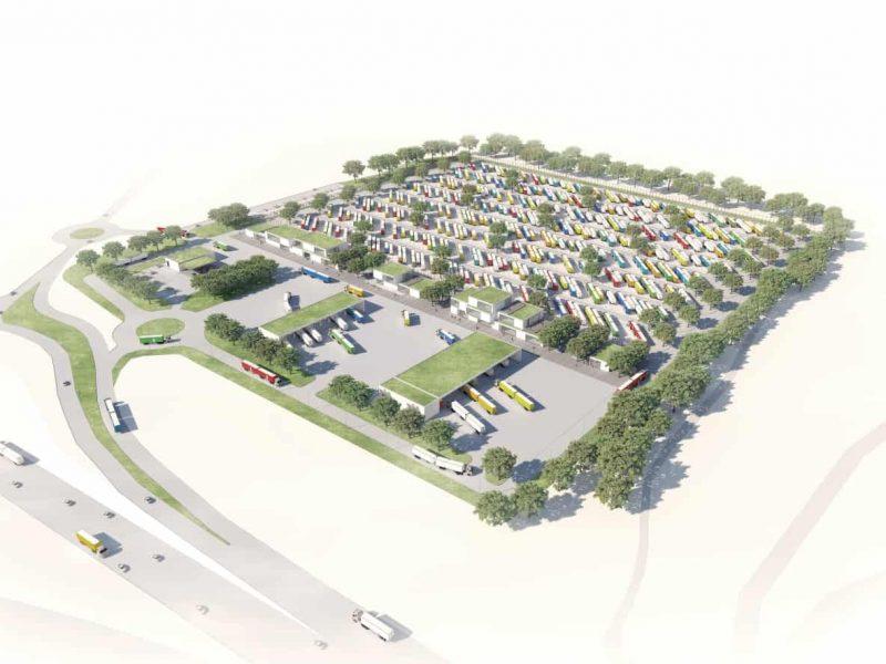 В Дании построят крупнейшую в Европе парковку для фур
