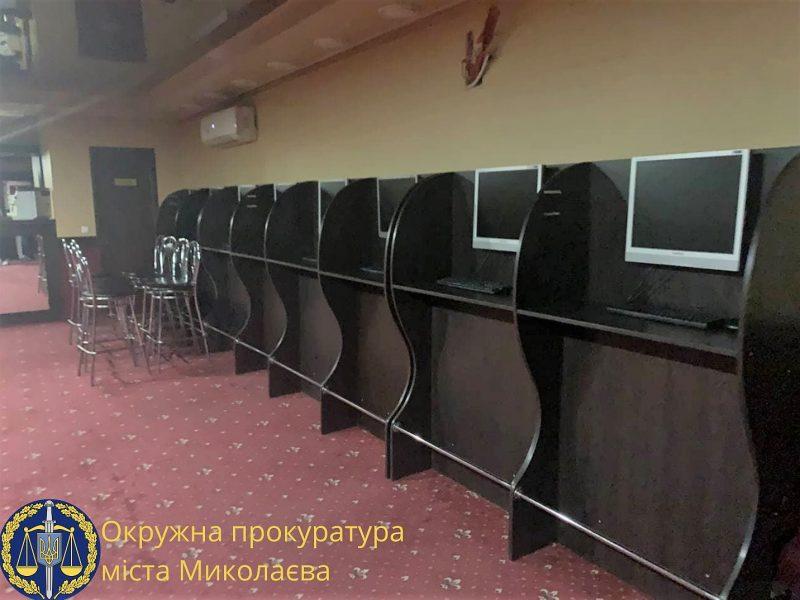 В центре Николаева работало подпольное казино. Теперь не работает (ФОТО)