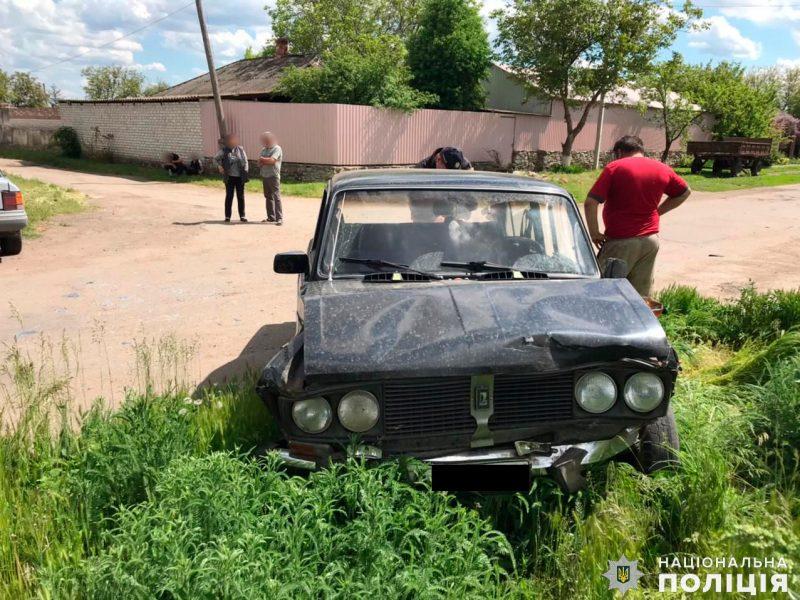 ДТП с двумя легковушками на Николаевщине: пьяный водитель «Жигулей» не пострадал (ФОТО)