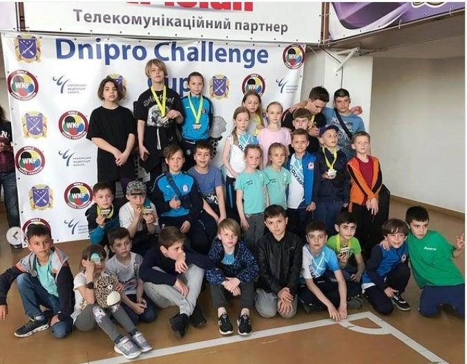 Юные каратисты из Николаева достойно представили город на Dnipro Challenge Cup (ФОТО)