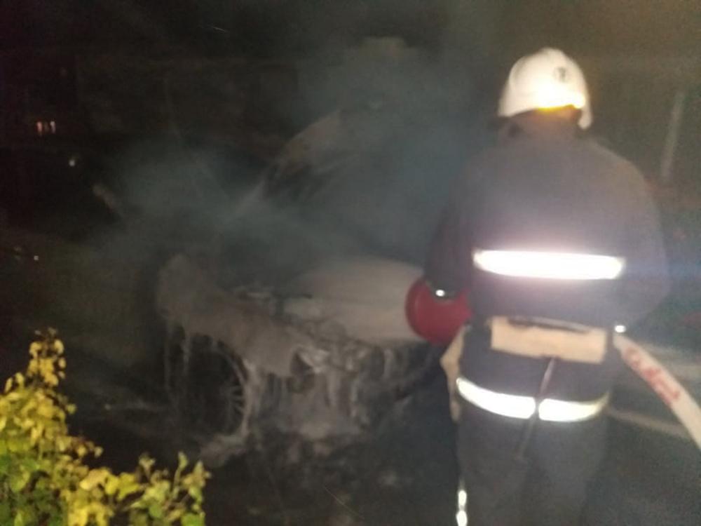 За сутки на Николаевщине дважды тушили горящие автомобили (ФОТО) 1