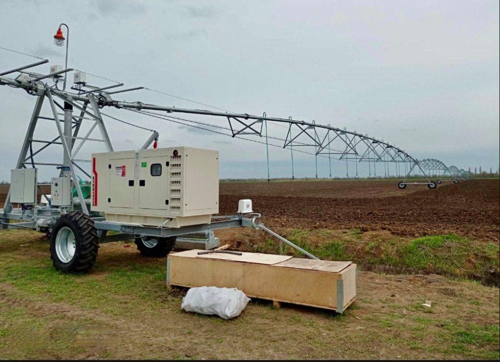 В Николаевской области смонтировали первую двукрылую дождевальную машину (ФОТО) 3
