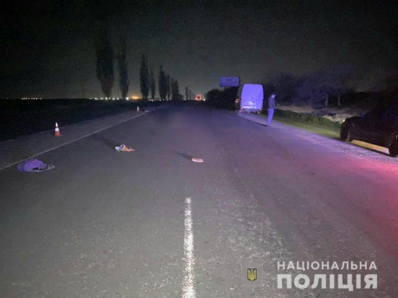 Неподалеку от Николаева ночью на трассе насмерть сбили неизвестную женщину (ФОТО)