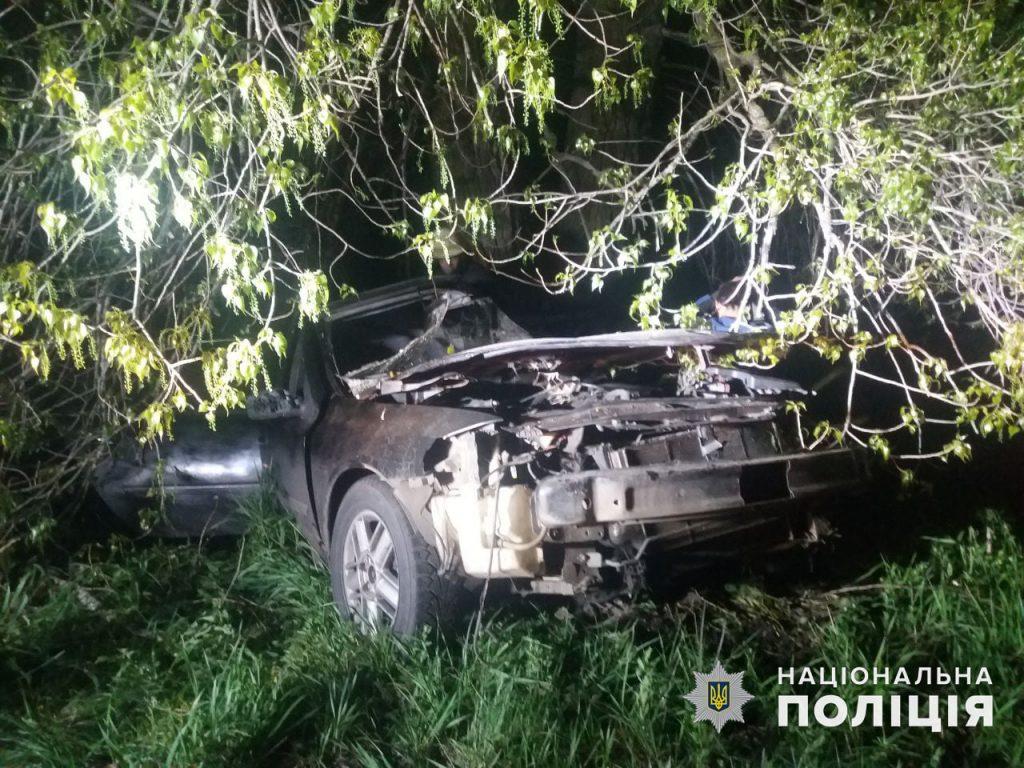 У Врадиевки в дерево влетел Renauit: молодые водитель и пассажир оказались в больнице (ФОТО) 3