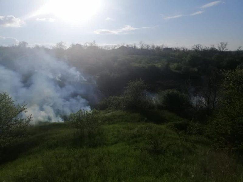 С начала года на Николаевщине выгорело 69 га открытых территорий, за вчерашний день — 5,4 тыс.кв.м (ФОТО)