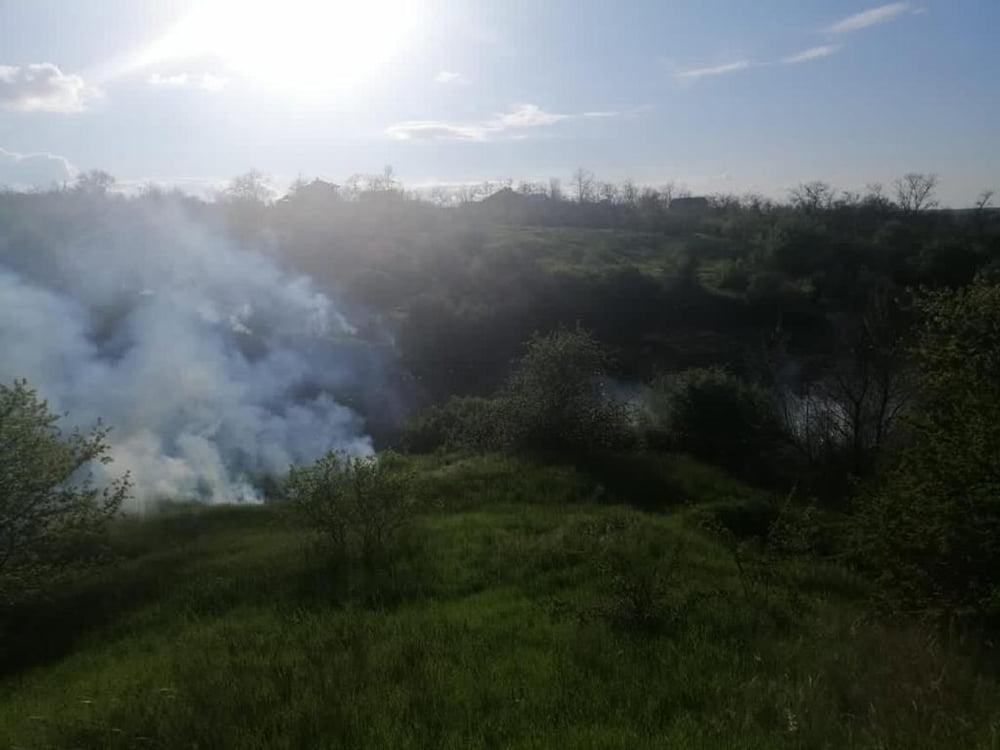 С начала года на Николаевщине выгорело 69 га открытых территорий, за вчерашний день - 5,4 тыс.кв.м (ФОТО) 3