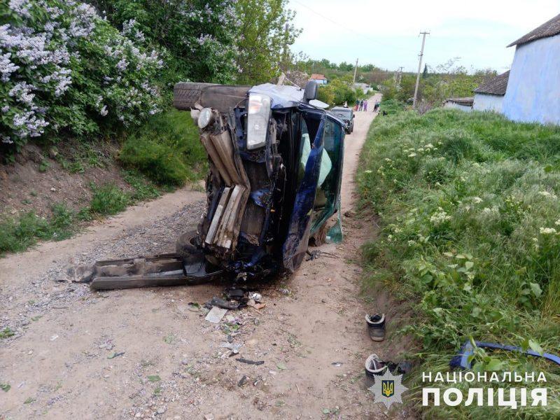 Не иначе карма: на Николаевщине мужчина, угнавший у односельчанина автомобиль, через несколько метров попал в аварию и оказался в больнице (ФОТО)