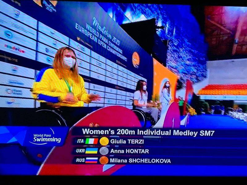 Николаевская спортсменка завоевала «серебро» чемпионата Европы по плаванию среди спортсменов с поражениями опорно-двигательного аппарата (ФОТО)