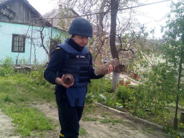 В Первомайском районе в один день нашли два артснаряда и гранату (ФОТО) 7