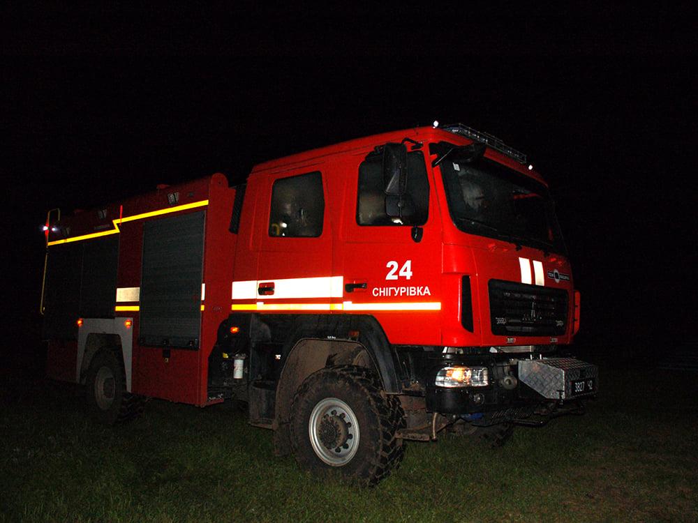 В селе на Николаевщине горел спорткомплекс. И чуть не сгорела школа (ФОТО) 5