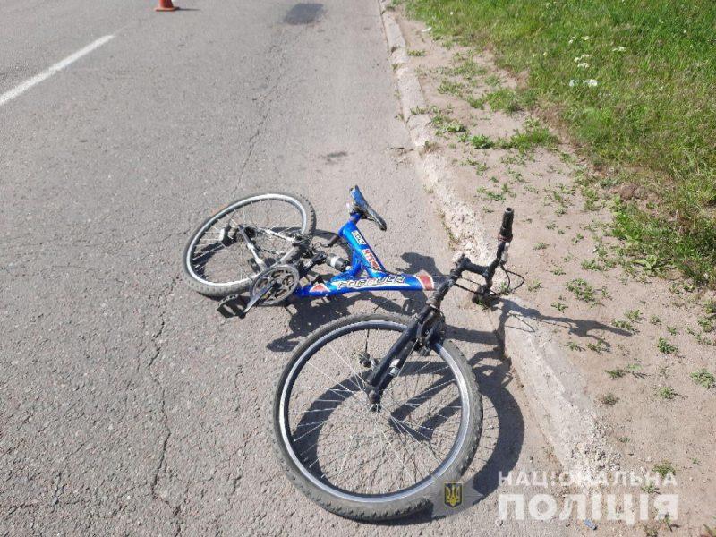 В Новой Одессе под колеса грузовика попал 12-летний велосипедист – полиция ищет свидетелей (ФОТО)