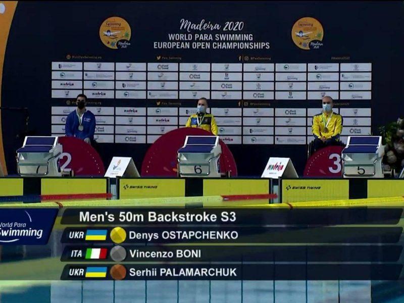 У николаевцев – еще две медали чемпионата Европы по плаванию среди спортсменов с поражениями опорно-двигательного аппарата (ФОТО)