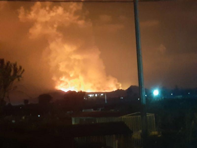 В Конго проснулся вулкан – украинских военных эвакуируют в безопасное место (ФОТО)