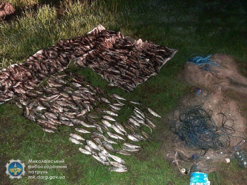 Николаевский рыбоохранный патруль поймал у Новой Одессы браконьера (ФОТО)