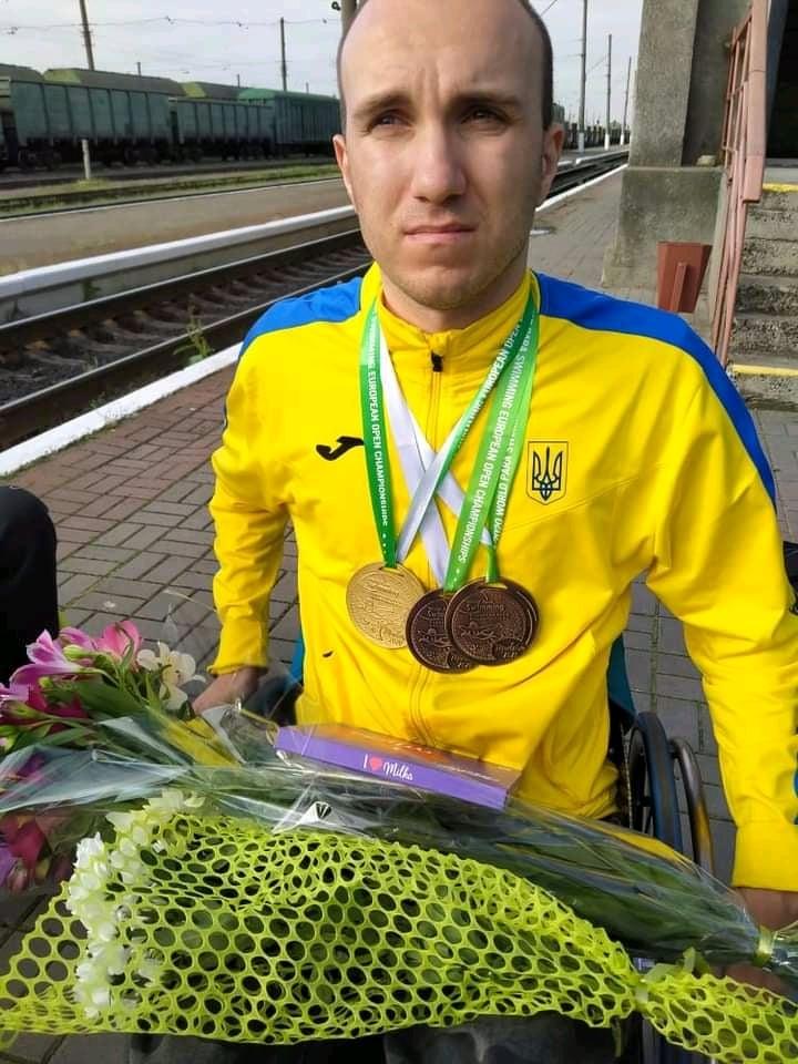 В Николаеве встретили пловцов-паралимпийцев, завоевавших на чемпионате Европы 7 медалей (ФОТО) 5