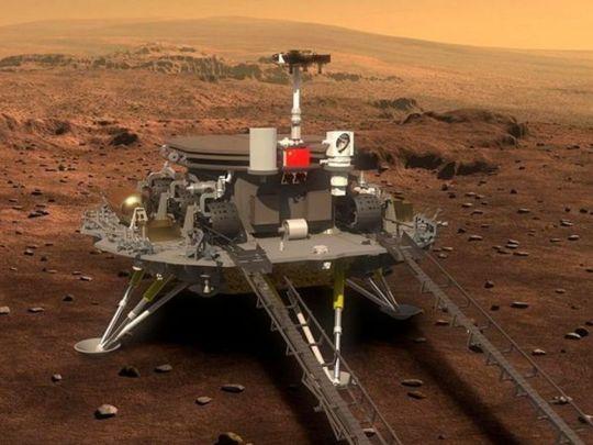 Китай стал второй страной в мире, доставившей свой аппарат на поверхность Марса
