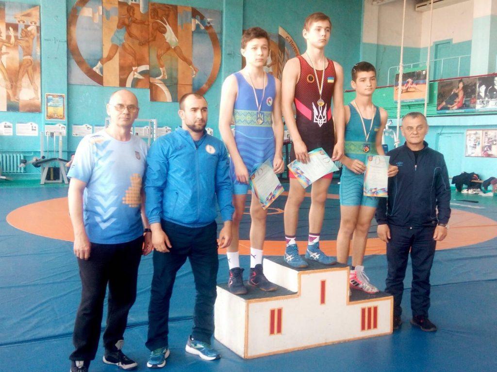 Николаевцы завоевали 7 наград чемпионата Украины по вольной борьбе среди спортсменов с нарушениями слуха (ФОТО) 9