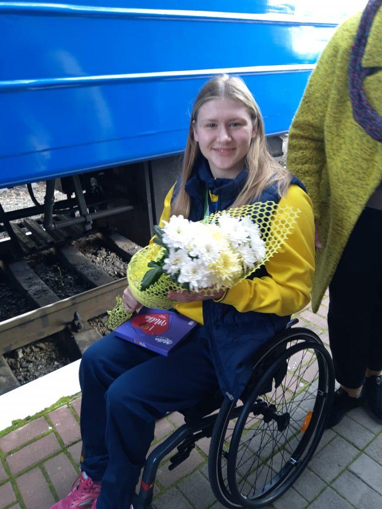 В Николаеве встретили пловцов-паралимпийцев, завоевавших на чемпионате Европы 7 медалей (ФОТО) 7
