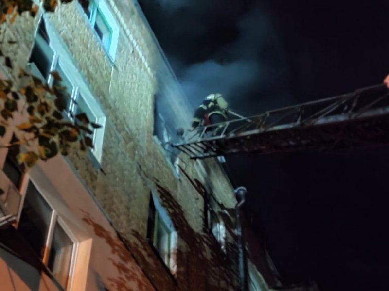 Смертельный ночной пожар в Николаеве. Погибла женщина (ФОТО)