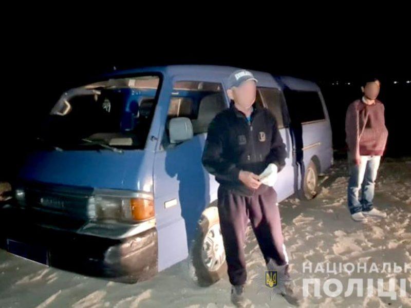 В Рыбаковке из детского санатория угнали микроавтобус (ФОТО)