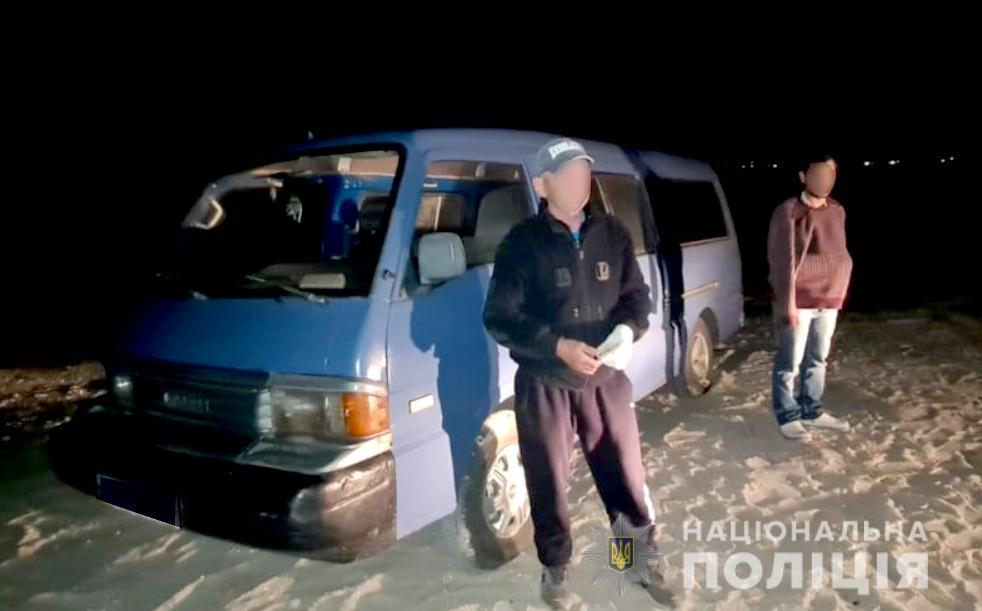 В Рыбаковке из детского санатория угнали микроавтобус (ФОТО) 1