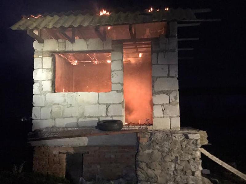 В Николаеве за сутки дважды тушили заброшенные постройки (ФОТО) 11