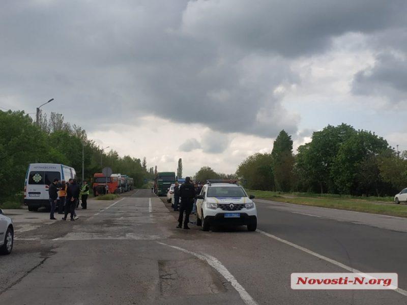 Группа «журналистов»-одесситов приехала контролировать ГВК под Николаевом: вспыхнул конфликт с водителями