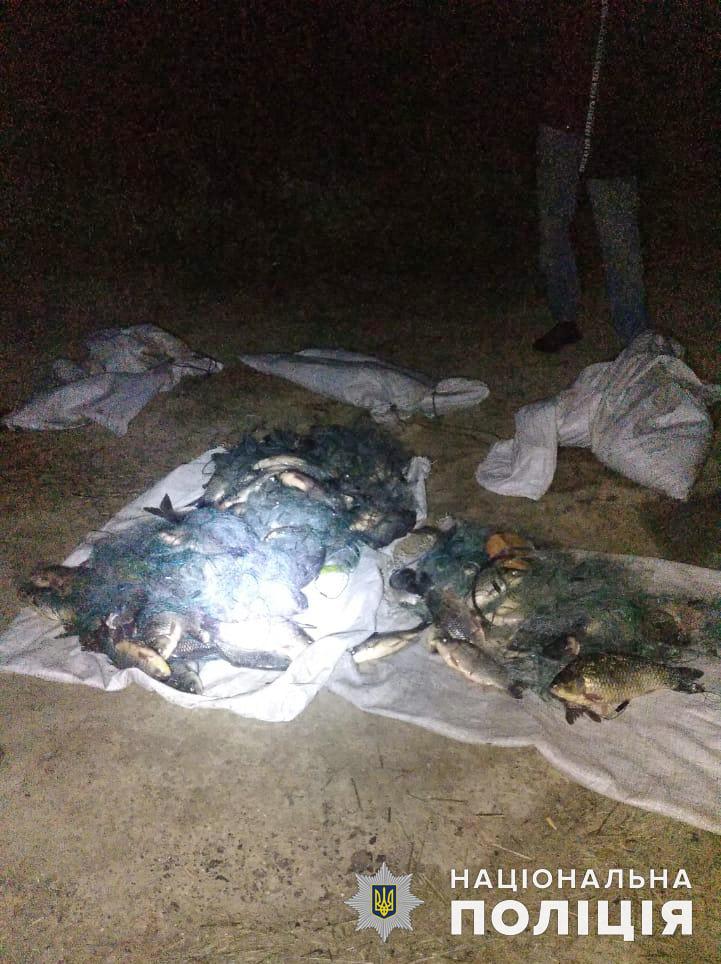 Николаевская водная полиция и рыбоохранный патруль поймали браконьеров на вылове креветки и рыбы (ФОТО) 13