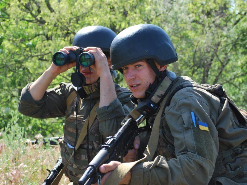 Николаевские нацгвардейцы проверили себя на выдержку (ФОТО)