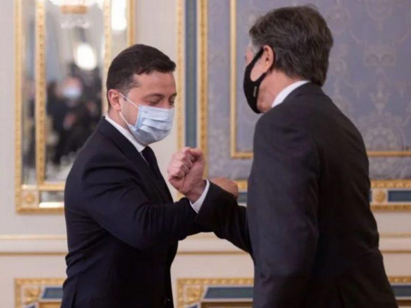 Визит Блинкена в Украину. С кем уже встретился и что сказал (ФОТО)