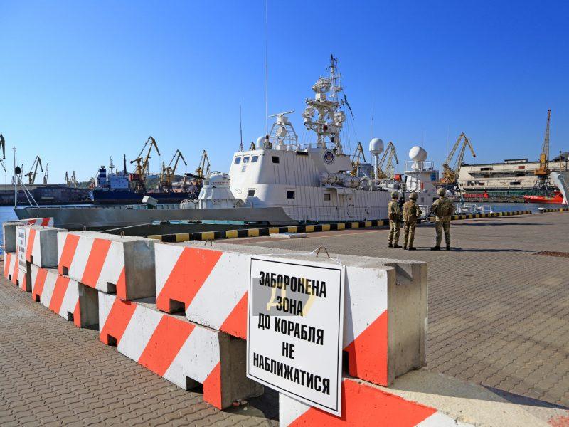 В Одессе пришвартовался  фрегат береговой охраны USCGC Hamilton (ФОТО, ВИДЕО)