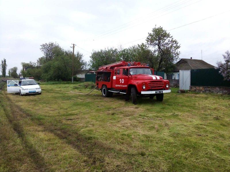 Николаевские спасатели выезжали на 4 пожара за сутки. Что тушили? (ФОТО)