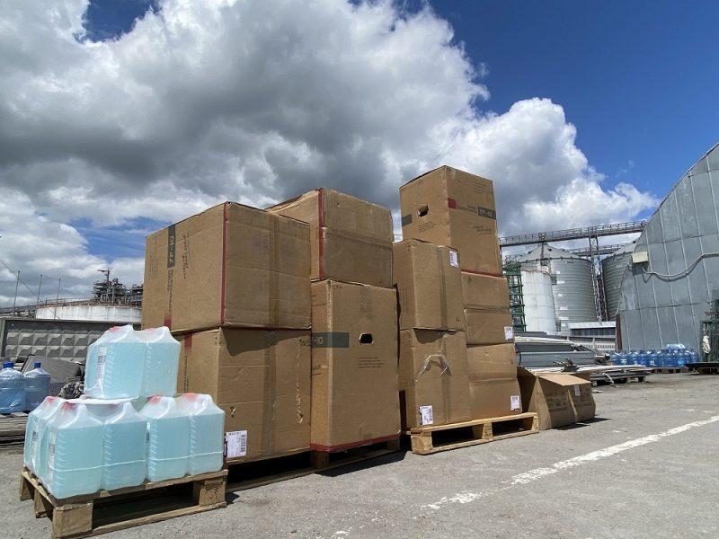 Порт «Ника-Тера» передал николаевским медикам 23 кислородных концентратора и другое оборудование (ФОТО)