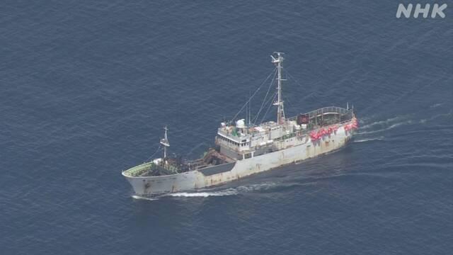 У побережья японского острова столкнулись японское и российское суда, погибли 3 японца (ВИДЕО)