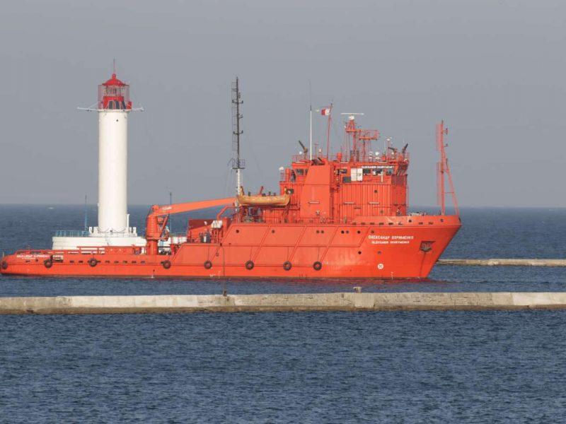 На верфь Нибулона на ремонт зашло судно ВМСУ