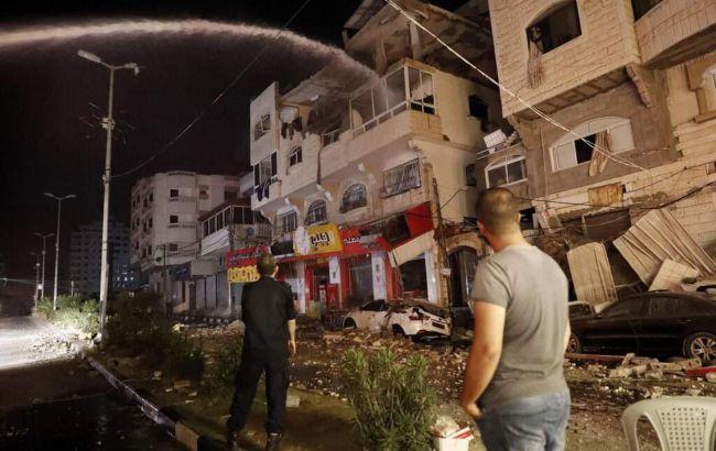 Адская ночь: продолжается ракетная война Израиля и ХАМАС