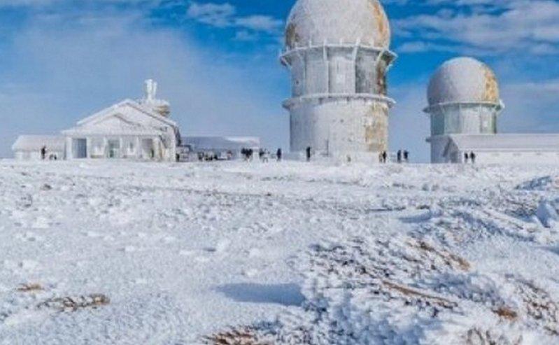 Майский снегопад. Португалию замело (ФОТО, ВИДЕО)