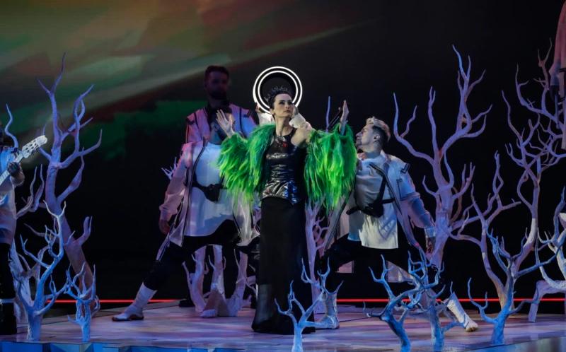 """Евровидение 2021: Go_A """"взорвали"""" сцену в первом полуфинале (ВИДЕО)"""