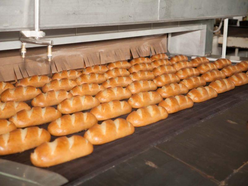 Николаевский хлебозавод №1 установил автоматическую линию выпечки 1800 батонов в час (ВИДЕО)