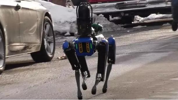 Робота-пса Boston Dynamics уволили из полиции Нью-Йорка — он слишком пугает преступников