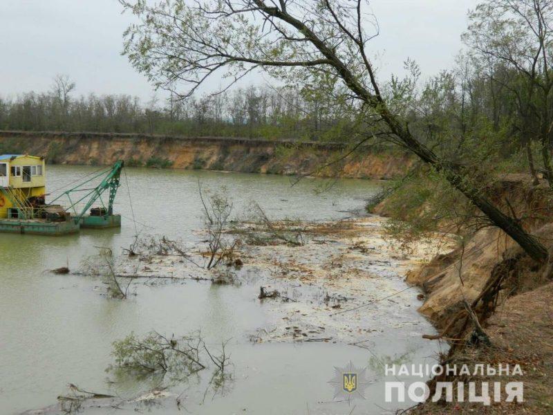 В Вознесенском районе ради незаконной добычи песка уничтожили лес (ФОТО)