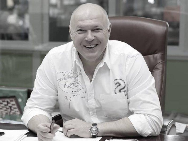 От ковида умер директор Николаевского тепловозоремонтного завода Вячеслав Симченко