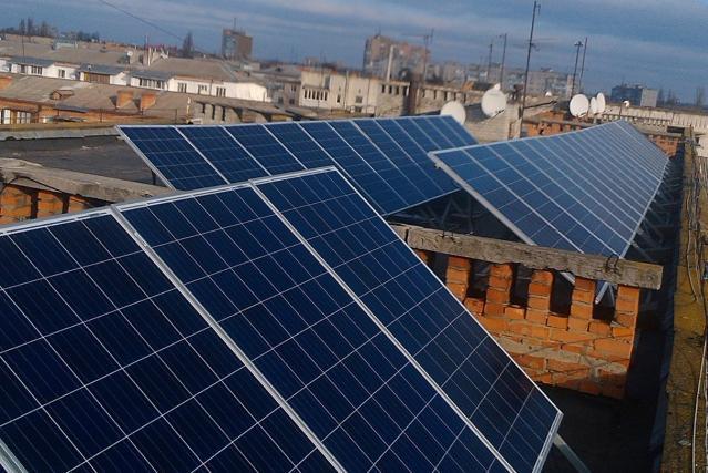 На крыше школы в Николаеве хотят установить солнечные батареи