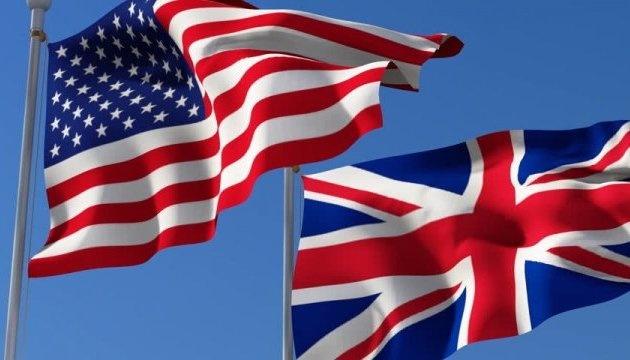 США и Великобритания заявили о единстве в поддержке Украины