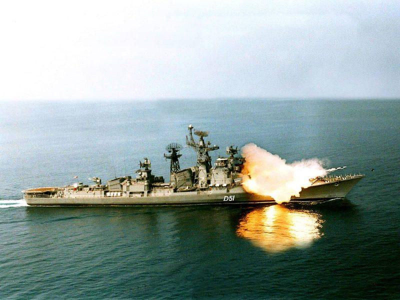 ВМС Индии списали эсминец, построенный в Николаеве 45 лет назад